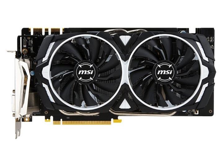 MSI GeForce GTX 1070 Armor 8G OC GDDR5 (912-V330-031) MSI