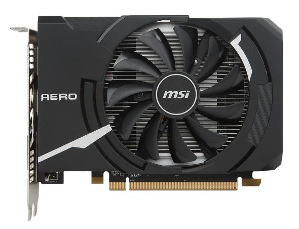 Видеокарта MSI Radeon RX 550 2GB DDR5 AERO ITX (RX_550_AERO_ITX_2G_OC)