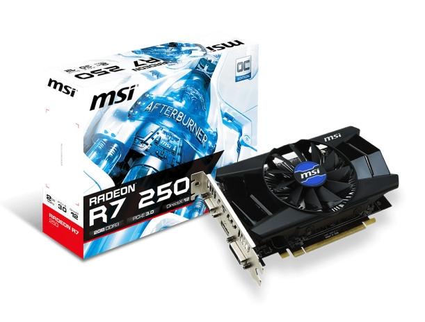 MSI Radeon R7 250 2GD3 OCV1 MSI