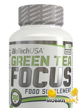 biotech BioTech Green Tea focus 90 капсул