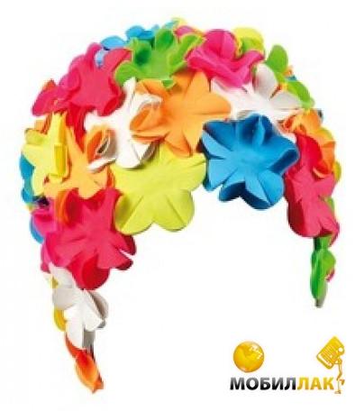 Шапочка для плавания BECO женская, с цветочным декором.  Безразмерная.  Изготовлена из вспененной резины.