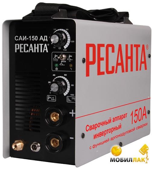 Ресанта Сварочный инвертор Ресанта САИ-150 АД (MMA+TIG) .