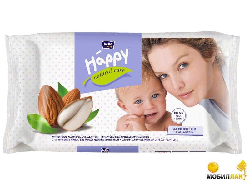 Bella Baby Happy Влажные салфетки Natural Care (56 шт) (5900516421045) MobilLuck.com.ua 21.000