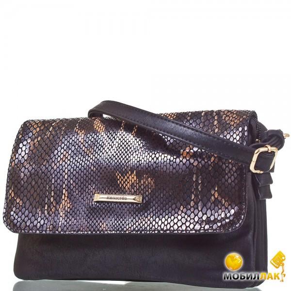 d1700ef07ea6 видеообзор и фото женская сумка через плечо Ronaerdo Bal3004 D Black. женская  сумка Ronaerdo 30146 Black клатчи и сумки оптом