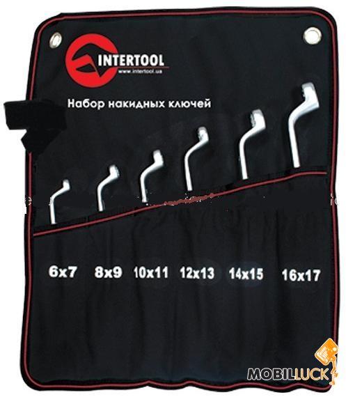 Intertool XT-1201 Набор накидных ключей 6шт 6-17мм MobilLuck.com.ua 208.000