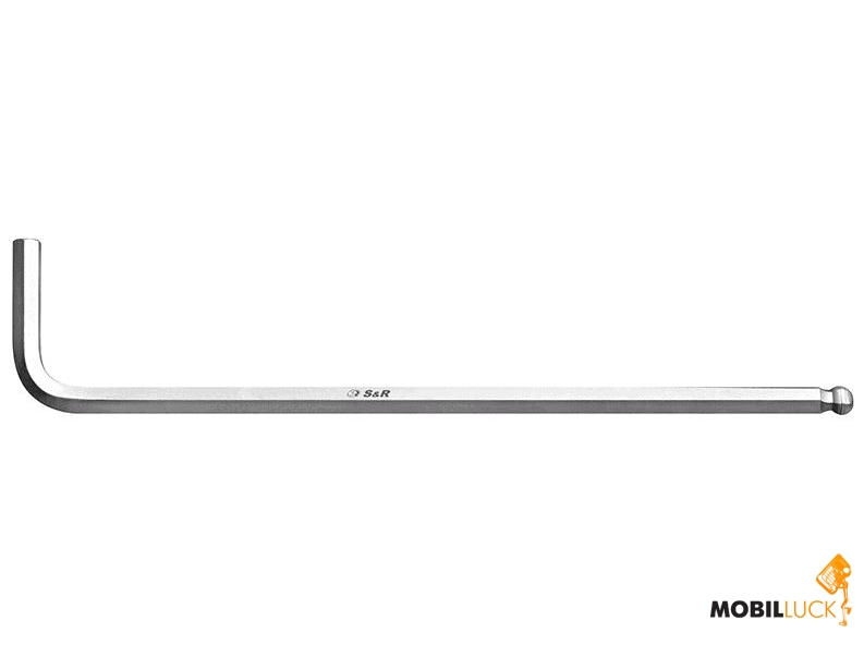 S&R Ключ шестигранный HXo 4,0мм L140х25мм (165140340) MobilLuck.com.ua 26.000