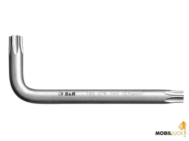 S&R Ключ шестигранный TX40 L76х26мм (165076040) MobilLuck.com.ua 31.000