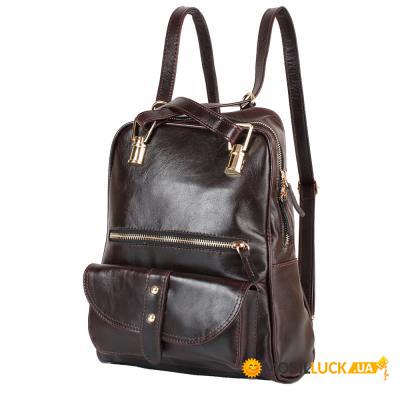 f690c29c9f4d Рюкзак женский кожаний LASKARA LK-DM229-dark-bordeaux. Купить Рюкзак ...