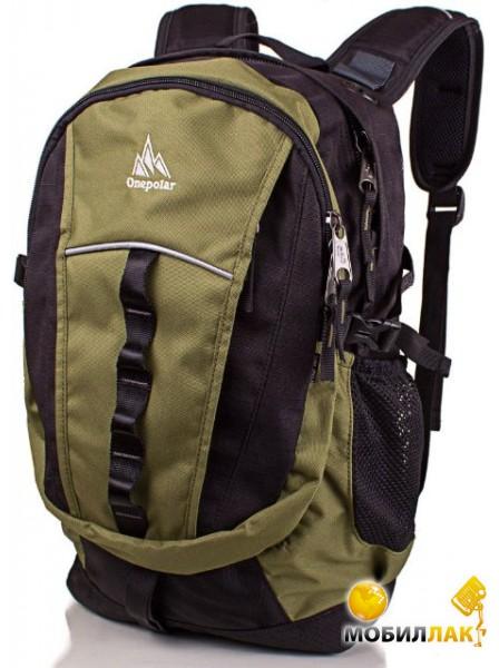 f47bf248ff9a Мужской рюкзак Onepolar W1300-green. Купить Мужской рюкзак Onepolar ...