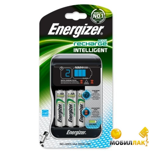Energizer Intelligent Charger + 4xАА 2000 MobilLuck.com.ua 510.000