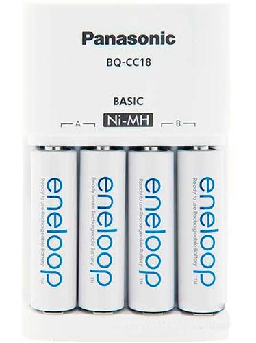 Зарядное устройство Panasonic Basic Charger+ Eneloop 4AA 1900 mAh (K-KJ51MCC40E)