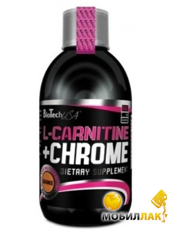 biotech BioTech L-Carnitine 35.000+ Chrome (SP0086)