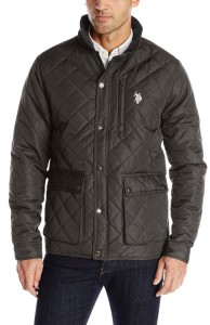 Фото Куртка мужская U.S. Polo Assn Diamond-Quilted L Black