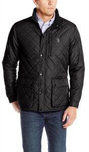 Фото Куртка мужская U.S. Polo Assn Diamond Quilted L Black