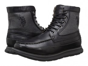 Фото Ботинки мужские U.S. Polo Assn Mercer Tall Moc (42-43UA 9,5US 28см) Black