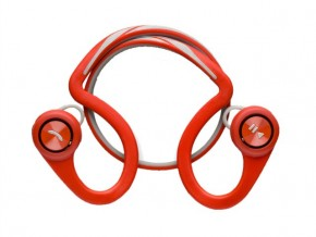 Гарнитура Bluetooth Plantronics BackBeat Fit Red + чехол на руку