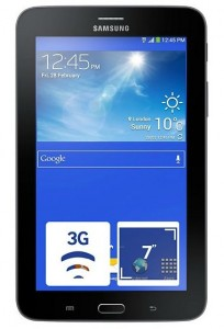 Фото Планшет Samsung Galaxy Tab 3 7.0 Lite 8Gb 3G Black (SM-T116NYKASEK)
