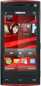 Nokia X6 Black Red 2