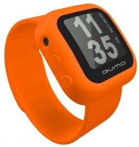 MP3 плеер Qumo SportsWatch 4 GB Orange