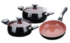 Посуда черного цвета купить