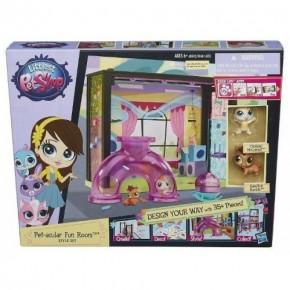 Стильный мини-игровой набор Hasbro Littlest Pet Shop Детская комната (A7641-1)