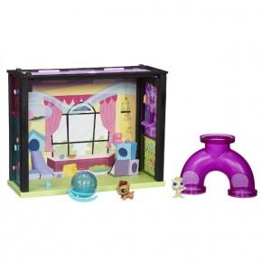 Стильный мини-игровой набор Hasbro Littlest Pet Shop Детская комната (A7641-1) 4