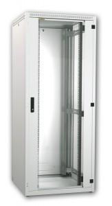 Шкаф 19, напольный eco, 16u (600x600), дверь стекло, estap