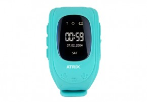 Смарт-часы Atrix Smart watch iQ300 GPS Blue