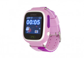 Смарт-часы Atrix Smart watch iQ400 Touch GPS Pink