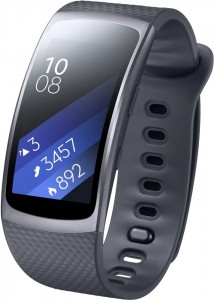 Фитнес-браслет Samsung Gear Fit 2 (SM-R3600DAASEK) Dark Grey 4