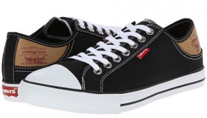 Фото Кеды мужские Levi's Stan Buck Fashion (42UA 9US 27,8см) Black/Brown