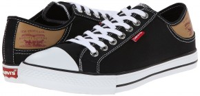 Фото Кеды мужские Levi's Stan Buck Fashion (42.5UA 9.5US 28.2см) Black/brown