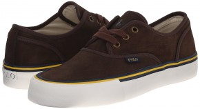 Фото Кеды мужские Polo Ralph Lauren Morray Nubuck Fashion (40UA 7US 25.5см) Dark Brown