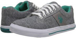 Фото Кеды женские U.S. Polo Assn Lexie (37.5UA 7.5US 24.5см) Grey Jersey/Teal