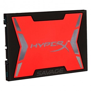 ���� SSD ���������� Kingston 120Gb HyperX Savage Bundle Kit (SHSS3B7A/120G)