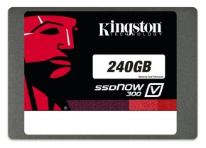 ���� SSD-���������� Kingston 2,5 240GB V300 7mm (SV300S37A/240G)