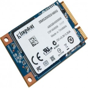 ���� SSD-���������� Kingston 480GB mSATA SMS200 (SMS200S3/480G)