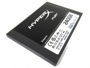 ���� SSD-���������� Kingston HyperX Fury 240GB (SHFS37A/240G)