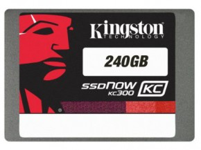 ���� SSD-���������� Kingston KC300 240GB 7mm SATA III 2,5 w/adap (SKC300S37A/240G)