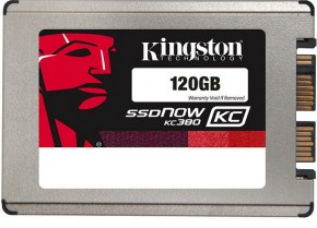 "���� SSD-���������� Kingston KC380 120GB 1.8"" SATAIII (SKC380S3/120G)"