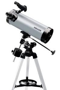 Телескоп Meade Reflector 114/1000 EQ.  Светосила: 8.8.  Оптическая схема: рефлектор Ньютона со встроенным редуктором...