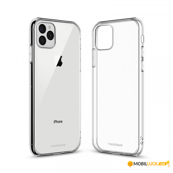 Чехол-накладка MakeFuture Air Apple iPhone 11 Pro Max Clear (MCA-AI11PM)
