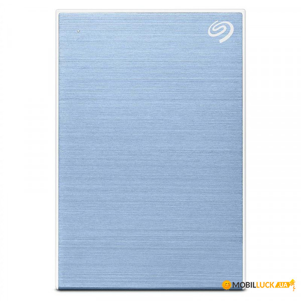 Жесткий диск Seagate ext 2.5 USB 1.0TB Backup Plus Slim Light Blue (STHN1000402)