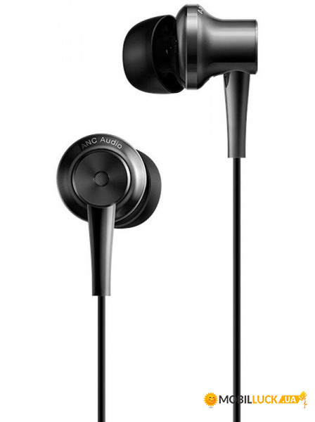 Наушники Xiaomi Mi ANC & Type-C In-Ear Earphones Black #I/S