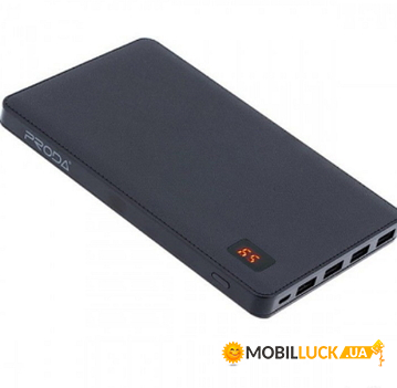 Портативная батарея Power Box Remax Proda Notebook 30000 mAh Black (8199BPPP7)