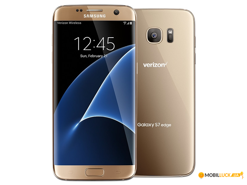 Смартфон Samsung Galaxy S7 Edge 4/32gb Gold (SM-G935V) 1sim USA Snapdragon *Refurbished