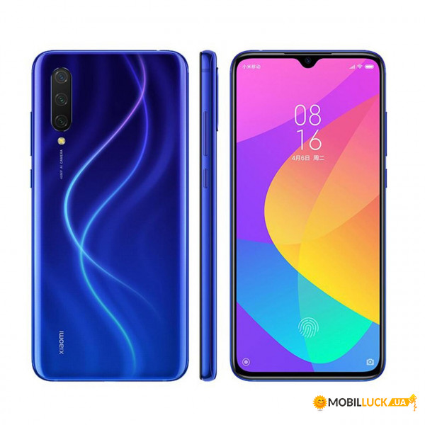 Смартфон Xiaomi CC9 6/64GB Blue *CN
