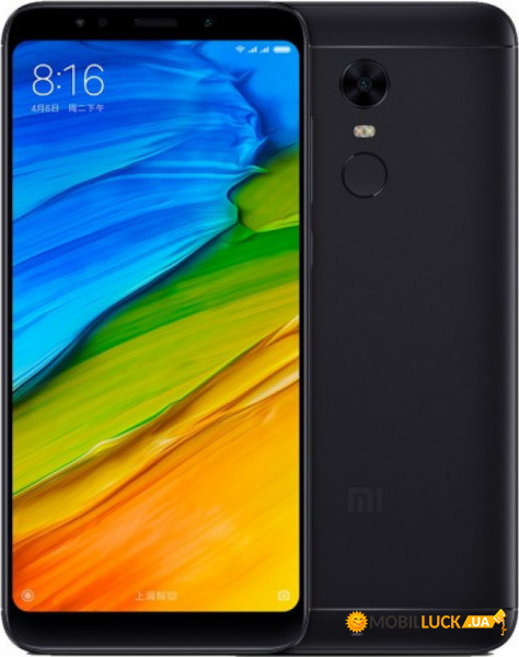 Смартфон Xiaomi Redmi 5 2/16Gb Black *CN