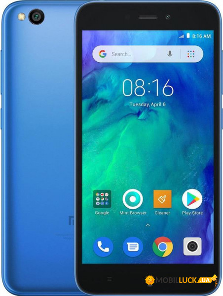 Смартфон Xiaomi Redmi Go 1/16Gb Blue *EU