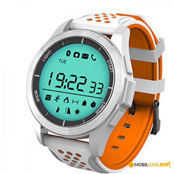 Спортивные часы Smart Water Sport Watch F3 White-Orange